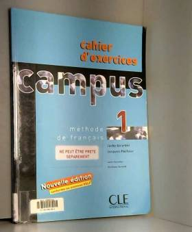 Campus 1 - Cahier d'exercices