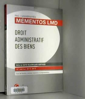 Odile De david beauregard- - Droit administratif des biens, 10ème Ed