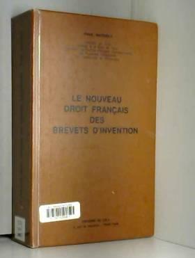Le nouveau droit français...