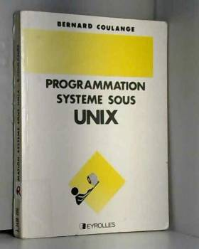 Coulange - Programmation unix