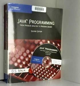 Dr. D.S. Malik - Java Programming: From Problem Analysis To Program Design