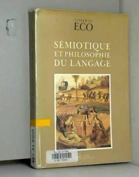 Sémiotique et philosophie...