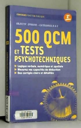 500 QCM et tests...