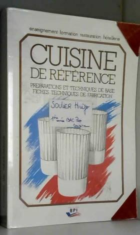 Cuisine de référence :...