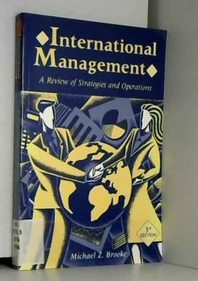 Michael Z. Brooke - International Management