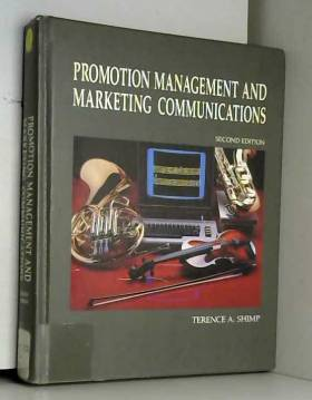 Terence A Shimp - Shimp Promot Manmt/Markt Comm 2e