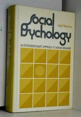 Social psychology: an interdisciplinary approach
