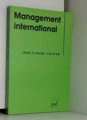 Usunier J-C. - Management international