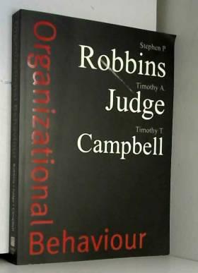 Stephen P. Robbins, Timothy A. Judge et Dr... - Organizational Behaviour plus Companion Website Access Card