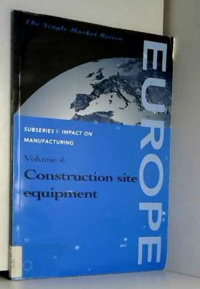 European Commission - Construction Site Equipment