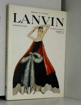 Lanvin–M ́ emoire De La Mode (Medium 〓 Moire De La Mode)