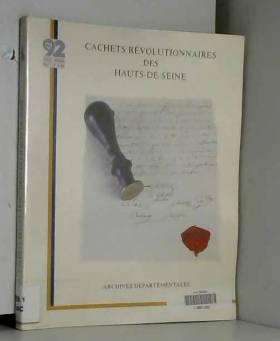 Dalas Martine - Cachets révolutionnaires des Hauts-de-Seine: Catalogue
