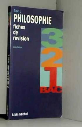 Jean Salem - Philosophie, Bac L : Fiches de révision