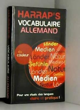 Collectif - Harrap's : Vocabulaire allemand