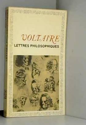Voltaire et René Pommeau - Lettres philosophiques
