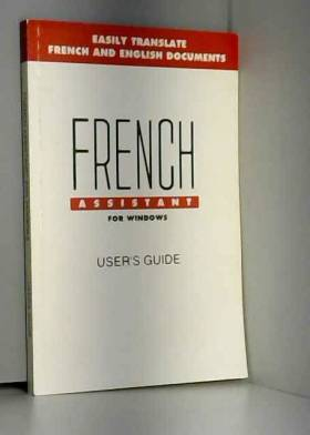Inc MicroTac Software - French Assistant 5 User's Guide (For DOS) (BOOK ONLY)