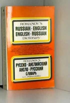 Simon and Schuster - Romanov's Russian English English Russian Dictionary