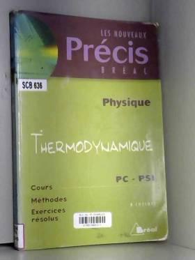 Nicolas Choimet - Physique : thermodynamique, PC-PSI
