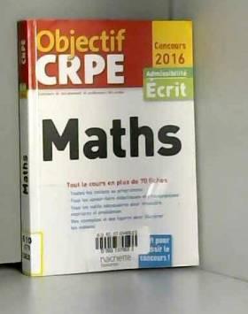 Alain Descaves - Objectif CRPE En Fiches Maths - 2016