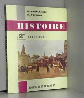 Chaulanges - Pevsner - HISTOIRE 2E TECHNIQUE
