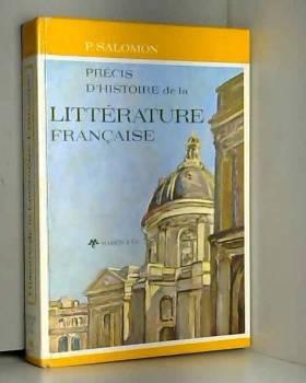 Salomon - Precis d'histoire de la litterature francaise