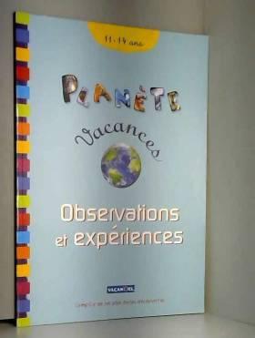 Jacques Lerouge - Observations et expériences