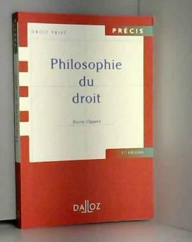 Philosophie du droit - 1ère...