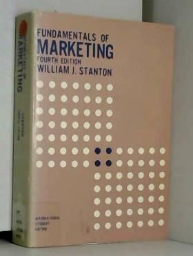 William J. Stanton - Fundamentals of Marketing