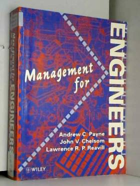 Andrew C. Payne, John V. Chelsom et Lawrence R.... - An Introduction to Management for Engineers
