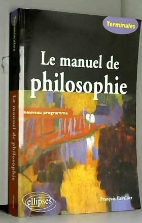 Le manuel de philosophie...