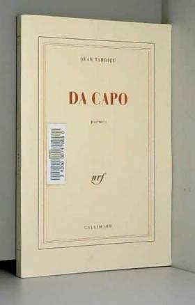 Jean Tardieu - Da capo