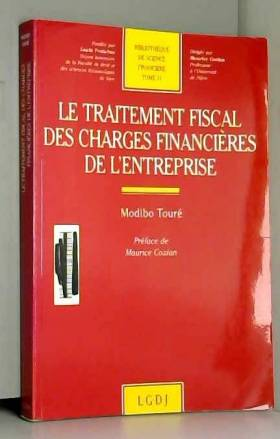 Modibo Touré - Le traitement fiscal des charges financières