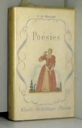 Pierre de Ronsard - Poésies (La Bibliothèque Précieuse)