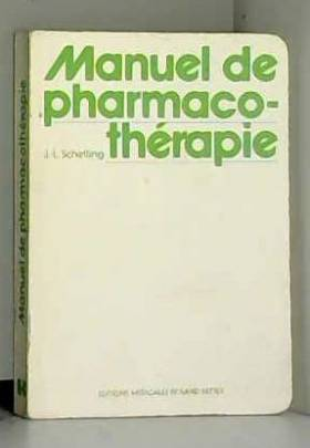 Manuel de pharmacothérapie (Collection L'Indispensable)