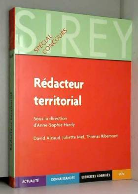 Hardy - Rédacteur territorial