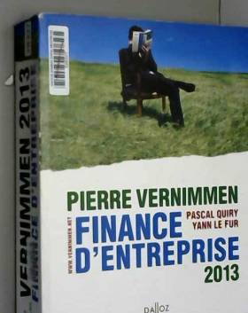 Finance d'entreprise 2013 -...