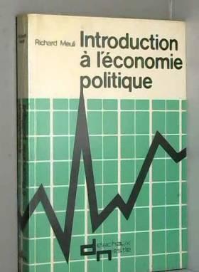 Richard Meuli - Introduction à l'économie politique