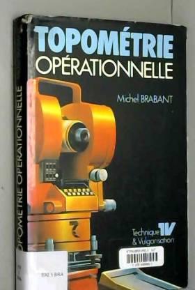 Brabant - Topométrie opérationnelle