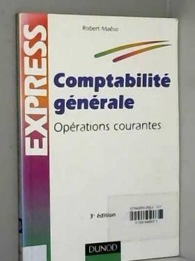 Robert Maéso - Comptabilité générale : Opérations courantes