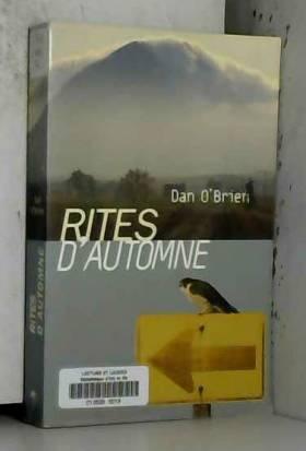 Dan O'Brien - Rites d'automne