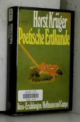Poetische Erdkunde. Reise-Erzählungen