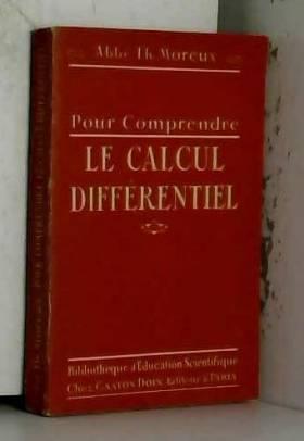 Pour comprendre le calcul différentiel