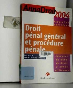 Anna droit 2004 : Droit...