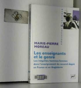 Marie-Pierre Moreau - Les enseignants et le genre