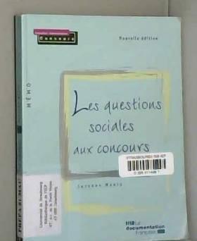 Suzanne Maury - Les questions sociales aux concours - 2e édition /série Mémo