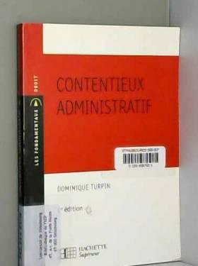 Dominique Turpin - Contentieux administratif