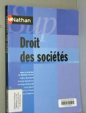 Nathalie Hector et Collectif - Droit des sociétés - Collection Nathan Sup
