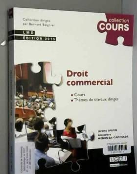 Alexandra Mendoza-caminade et Jerome Julien - Droit commercial, 2ème Ed.