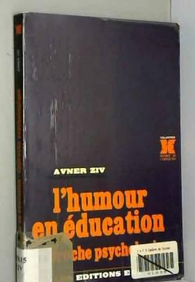 Avner Ziv - L'humour en éducation
