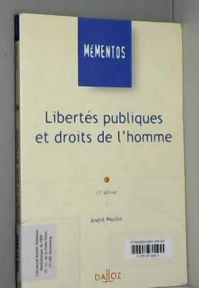 André Pouille - Libertés publiques et droits de l'homme